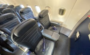 Spirit Airlines Big Front Seat