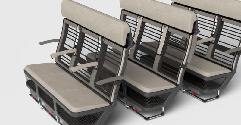 front view of the Super Eco seat