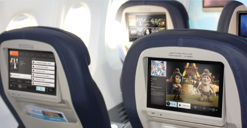 Lumexis FTTS in aircraft seat ife