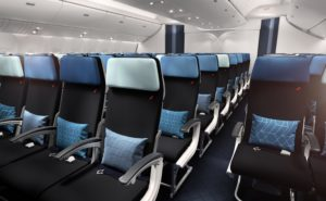 Air France Economy Class Seat and Cabin Interior