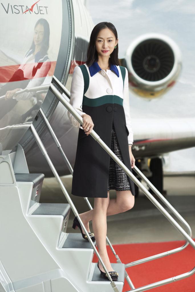 Leona Qi is president of VistaJet US