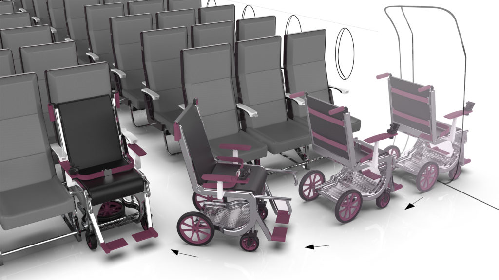 Award-winning student design offers a new take on accessible cabins - Runway Girl