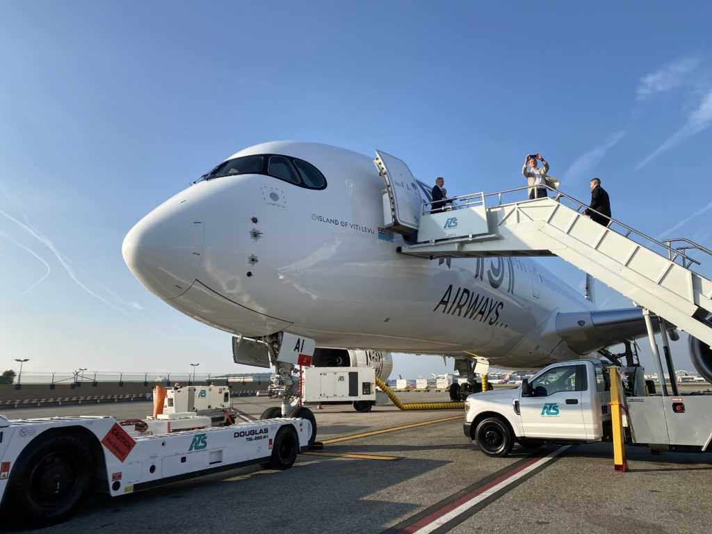 Fiji Airways A350 XWB - Juliana Shallcross