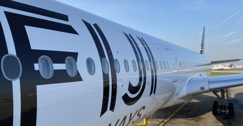 Fiji Airways's A350 XWB livery