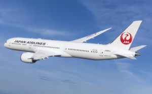 JAL 787-9 Inflight