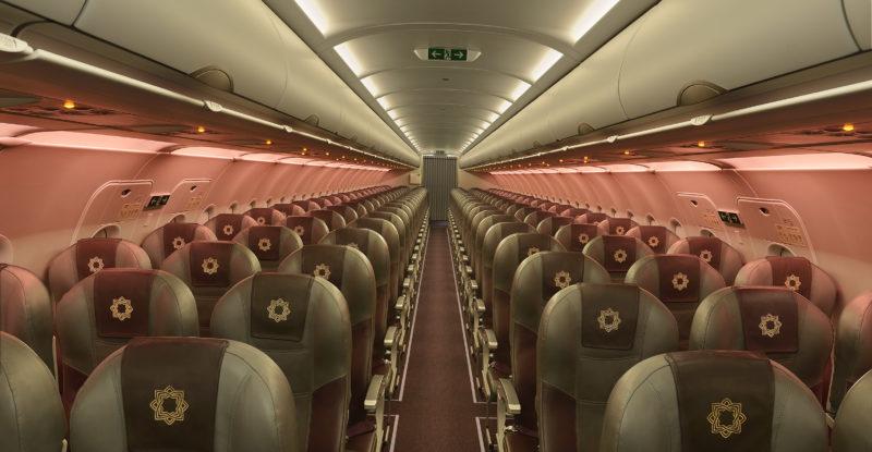Vistara economy class interior