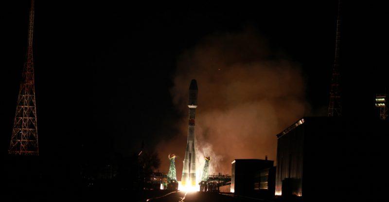 satellite launch of OneWeb