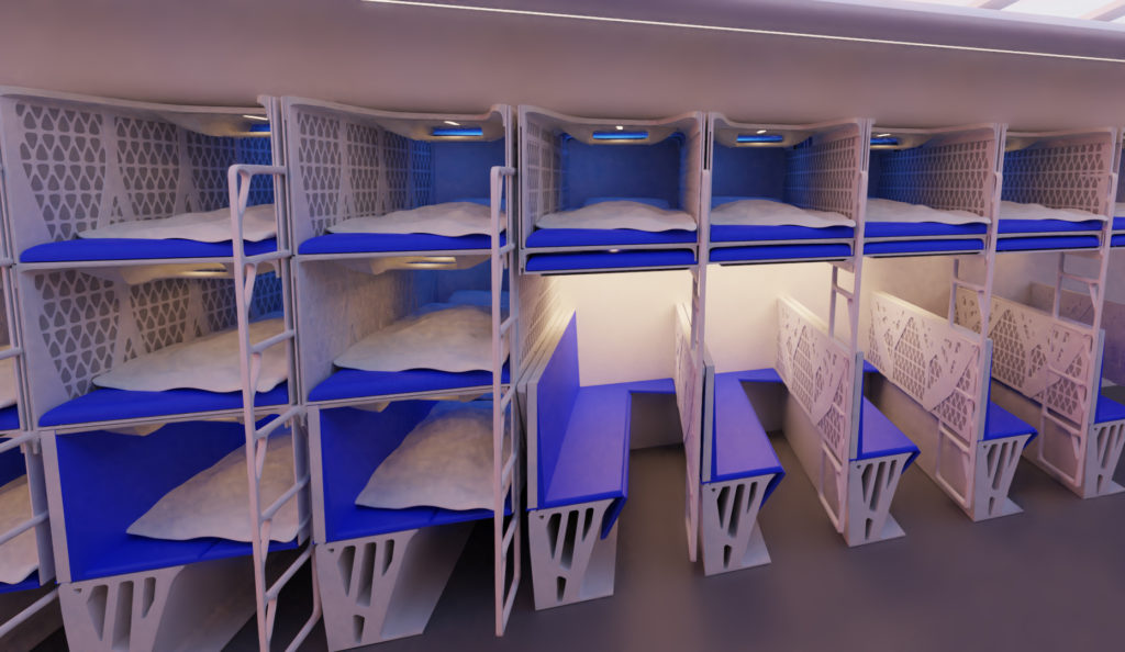 TU Delft Collapsible Beds