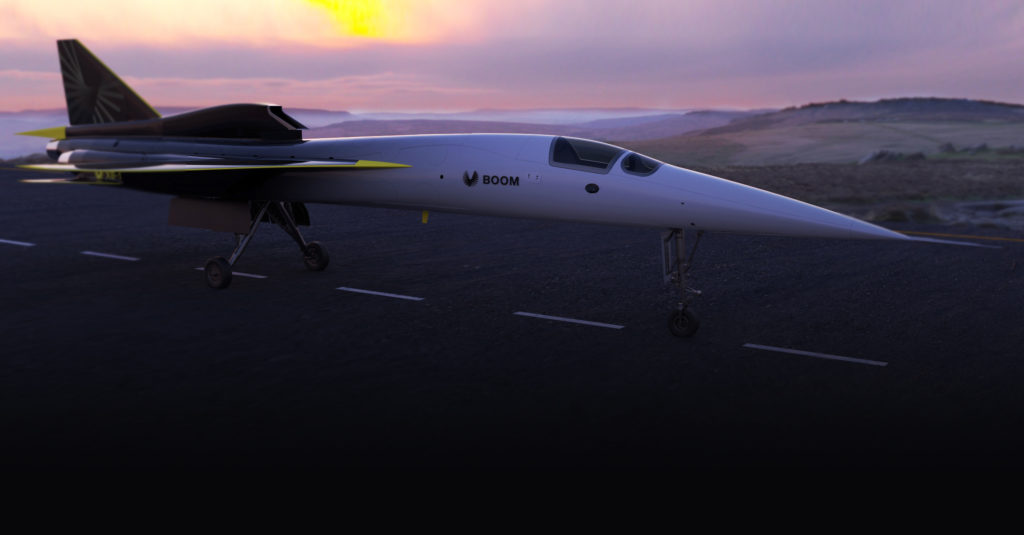 Press Release: Boom commits to XB-1 test program carbon neutrality - Runway Girl