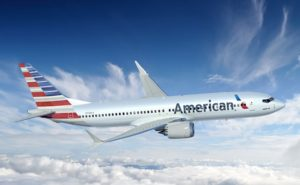 American Airlines 737max from boeing media