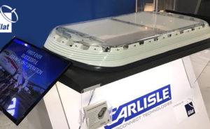 Carlisle Antenna on display on show floor