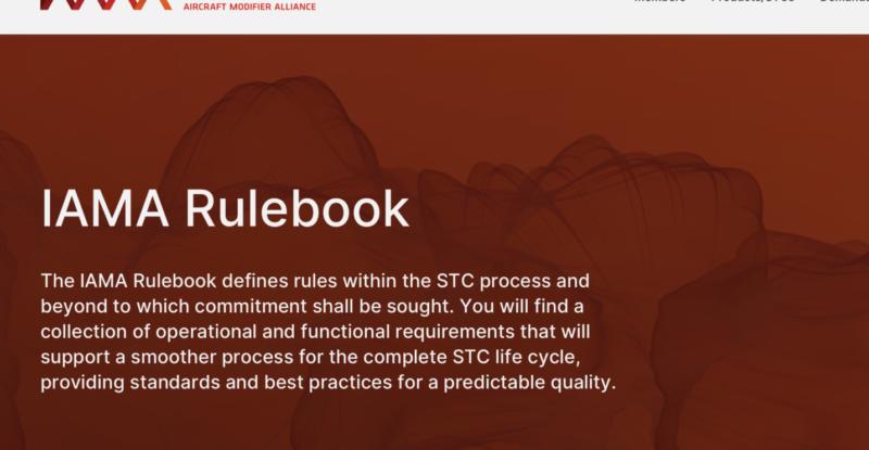 IAMA rulebook