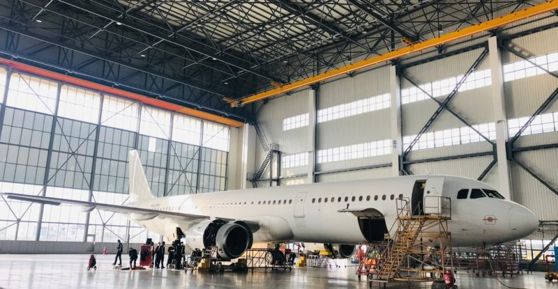 ST Engineering - Vallair spearheads A321 passenger to freighter conversions in China aircraft hanger