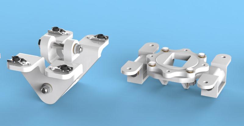 ARINC 791/792 Adjustable Fittings on a blue background