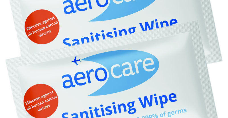Linstol Aerocare Sanitising Wipes