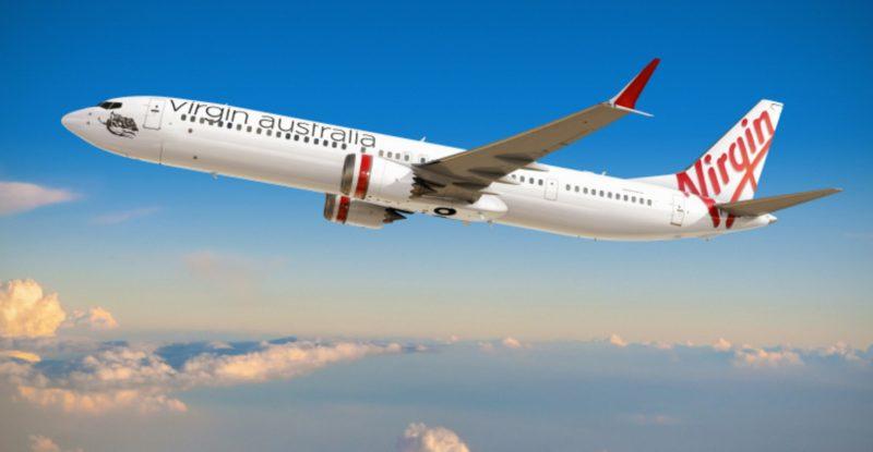 Virgin Australia MAX 10 in-flight