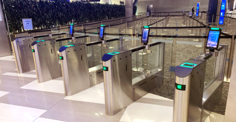 eGatesautomated self-service barriers