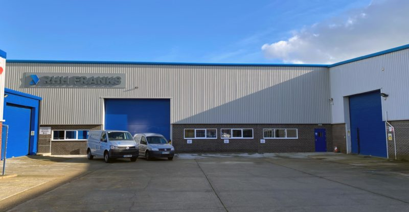 New manufacturing facility at RHH Franks in New Milton, Hampshire. Image: RHH Franks