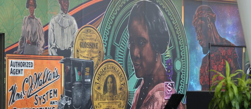 Madam Walker Legacy Mural Unveiling