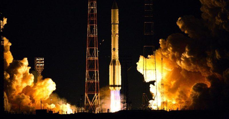 Yamal-401 rocket launch.