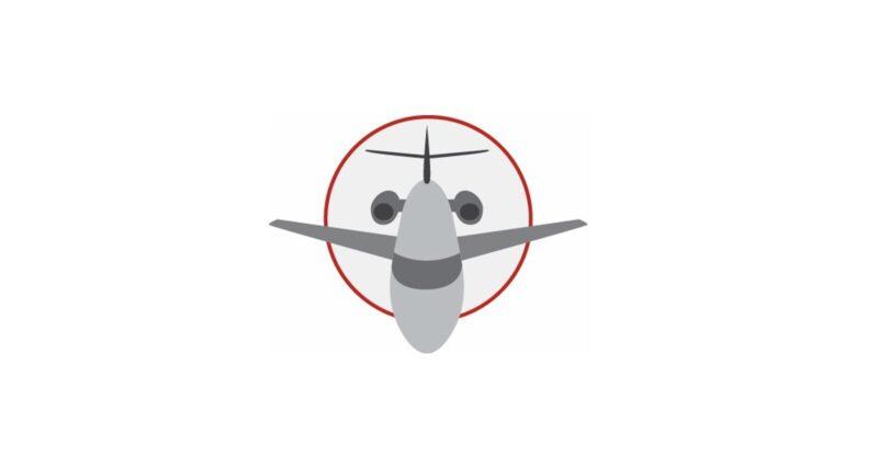 RGN Biz logo, BizAv with an image of a corporate jet