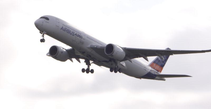 Airbus Flight Lab inflight.