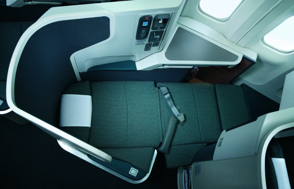 Cathay's late 2010 version of Cirrus was, in many ways, the quintessential version. Image: Cathay Pacific