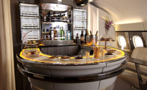 Emirates A380 Onboard Lounge Refresh