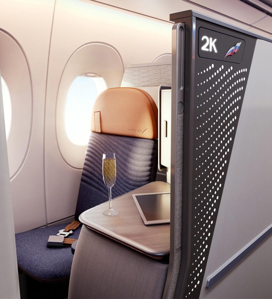 Horizon Premier seat from Collins Aerospace.