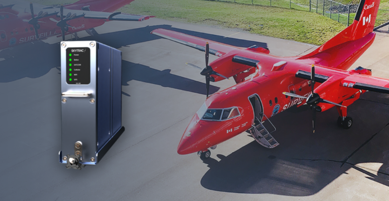 Bright red NASP aircraft on tarmac with the hardware device displayed in the foreground.