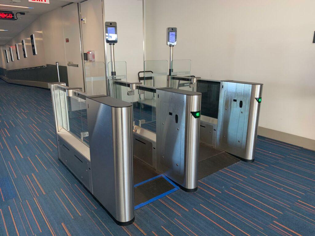 Biometric scanners to facilitate boarding