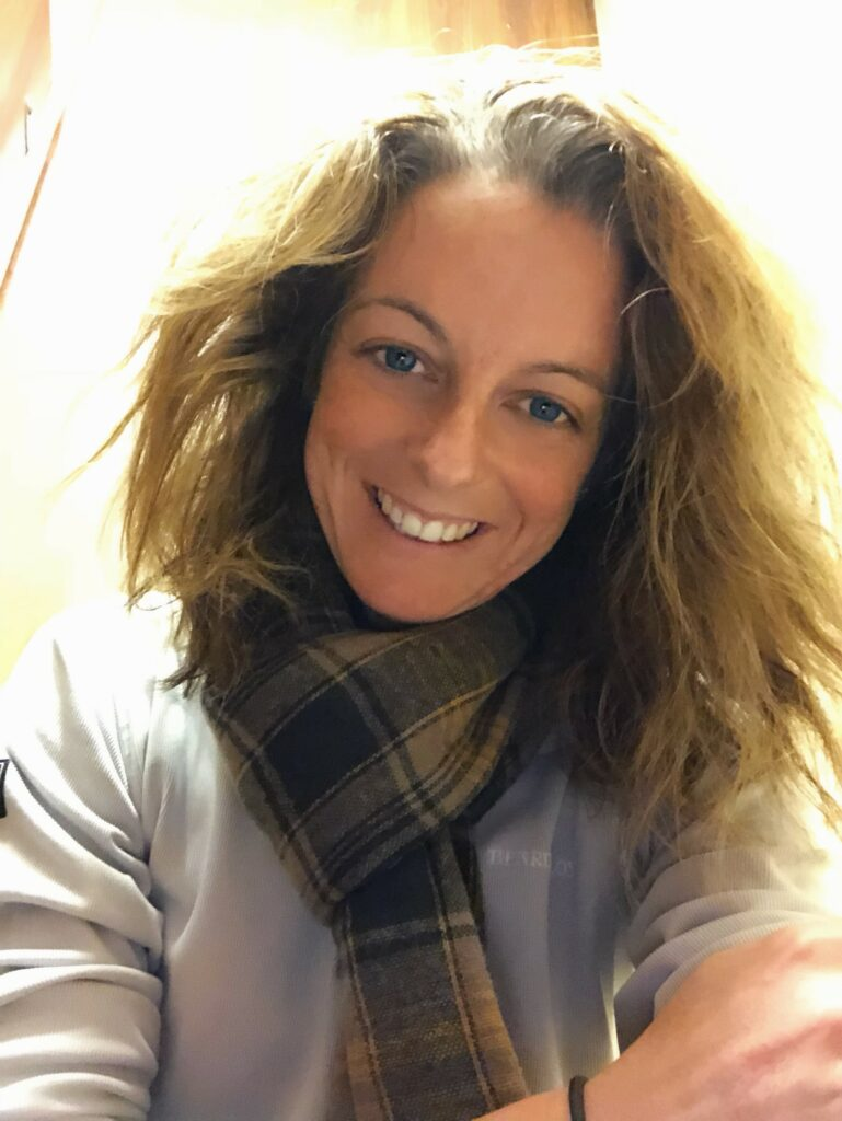 A headshot of Vicky Gould, head of operations at Skyborne Airline Academ