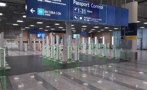 Vision-Box at Helsinki Airport.