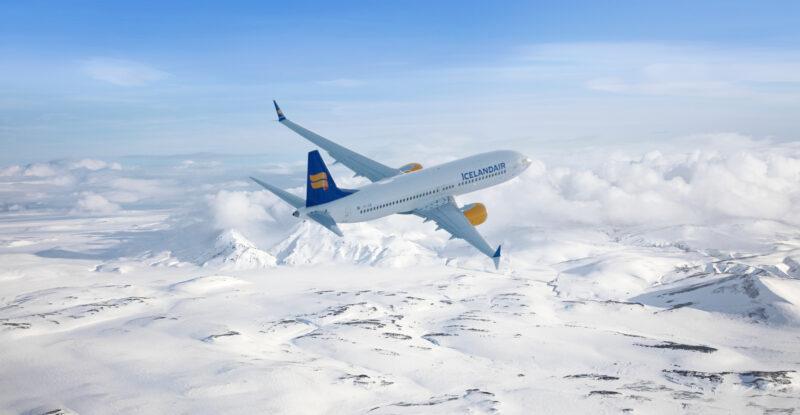 Icelandair Boeing 737 MAX-9 in-flight