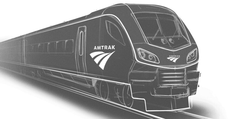 Siemens Mobility train for Amtrak Connects US plan.