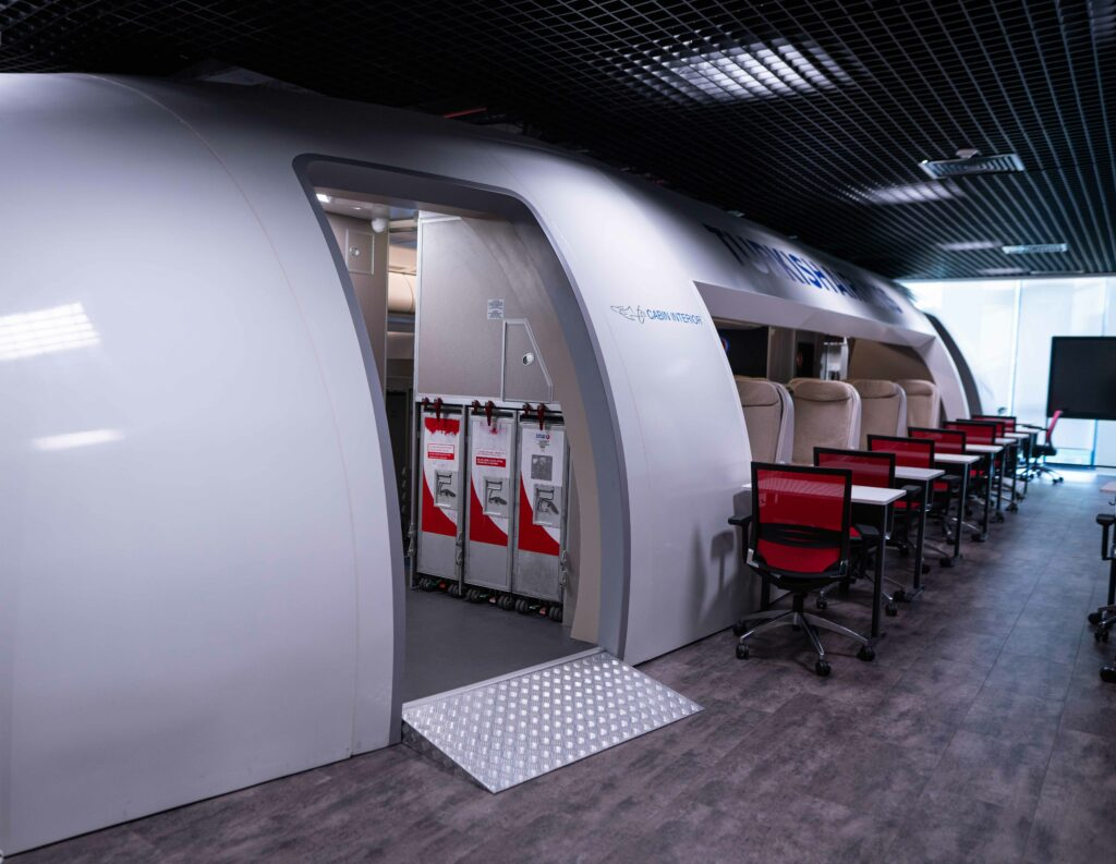 TCI Cabin Service Training Simulator for Turkish Airlines