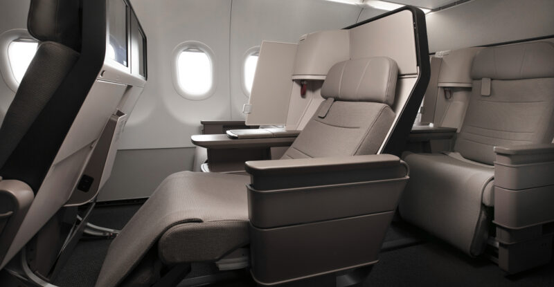 Cathay A321neo business class seat
