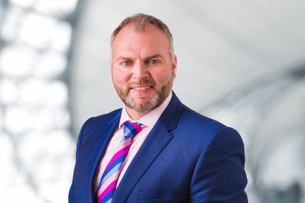 Headshot of Mark Stevens Head of Sales