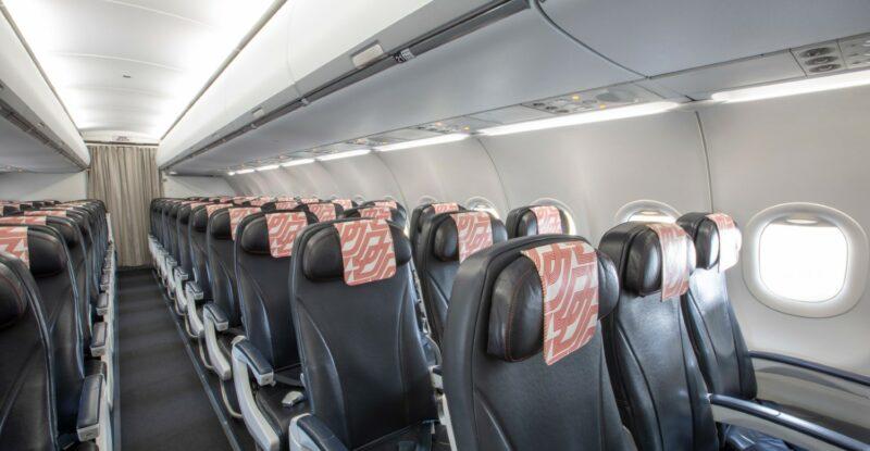 2021 Safran Cabin ECOS Overhead Bins in Air France A320