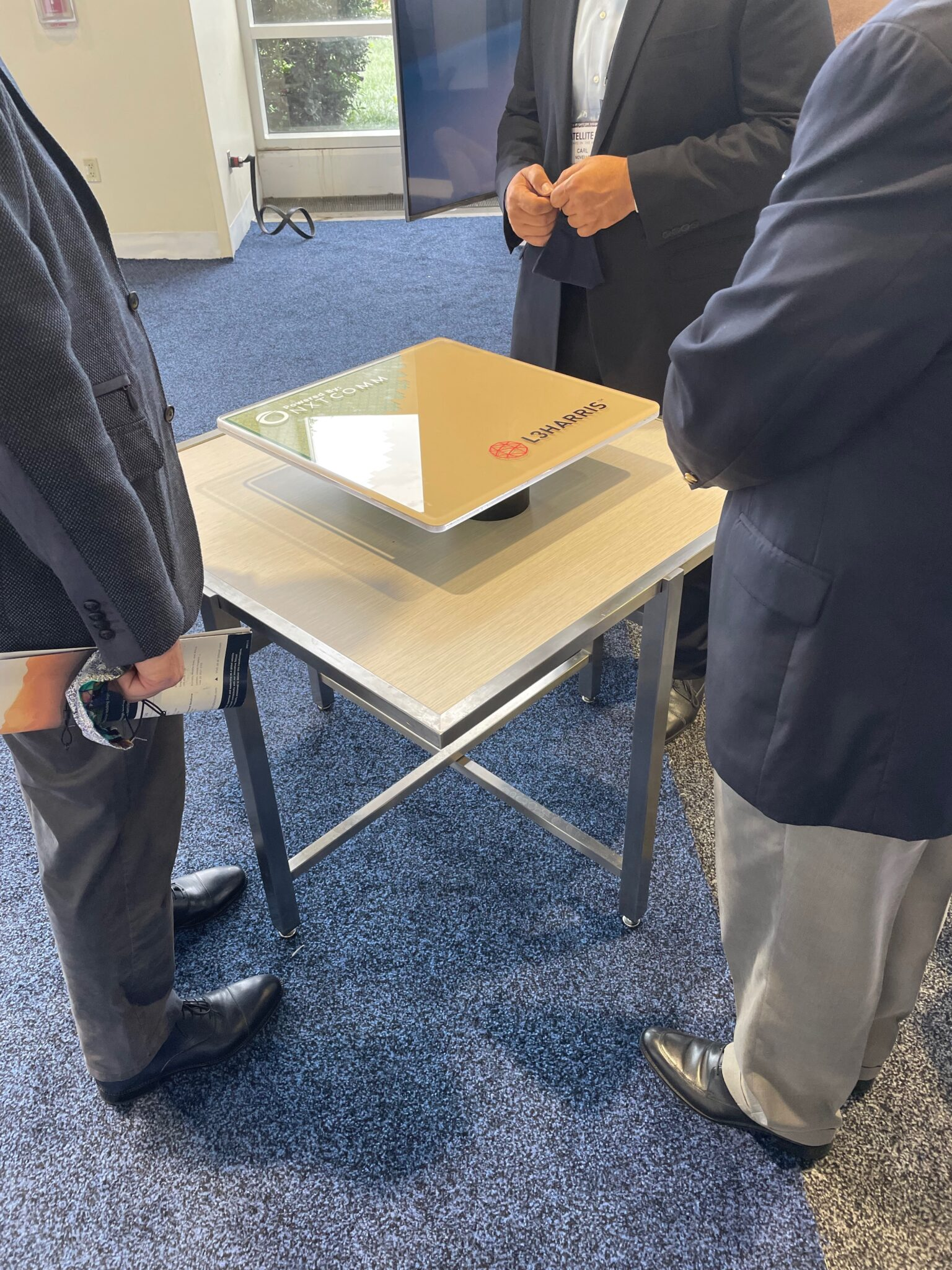 L3Harris antenna by NXTCOMM on display at Satellite Conference 2021