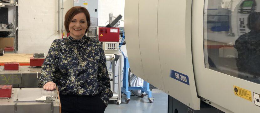 Joanne Liddle managing director IPC Mouldings