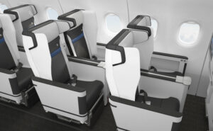 Z535i Interspace seat by Safran