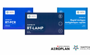 Switch Health COVID-19 tests provided by Air Canada