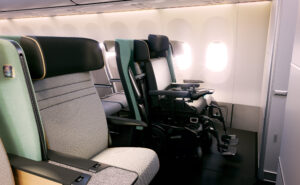 The Air 4 All system onboard, showing that wheelchairs could be supported without removing seats