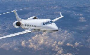 The SD Gulfstream G350 North Atlantic validation flight confirms full capabilities of the tail-mounted SD Plane Simple Antenna System .