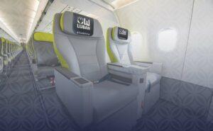 Luban seating on SalamAir